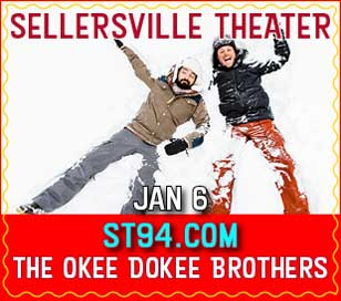 THE OKEE DOKEE BROTHERS in Sellersville Theater 1894