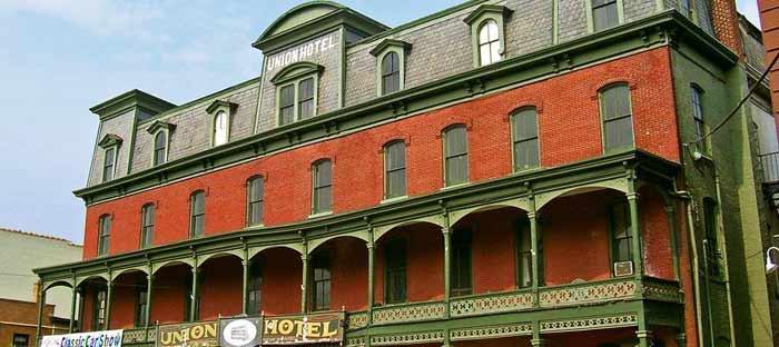 The Flemington Union Hotel in Hunterdon County, NJ